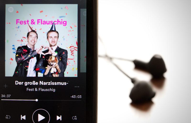 Fest und Flauschig in der Spotify-App